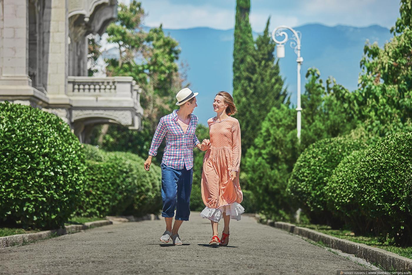 Свадьба для двоих в Крыму. Ливадийский дворец. Фотограф - Сергей Юшков.