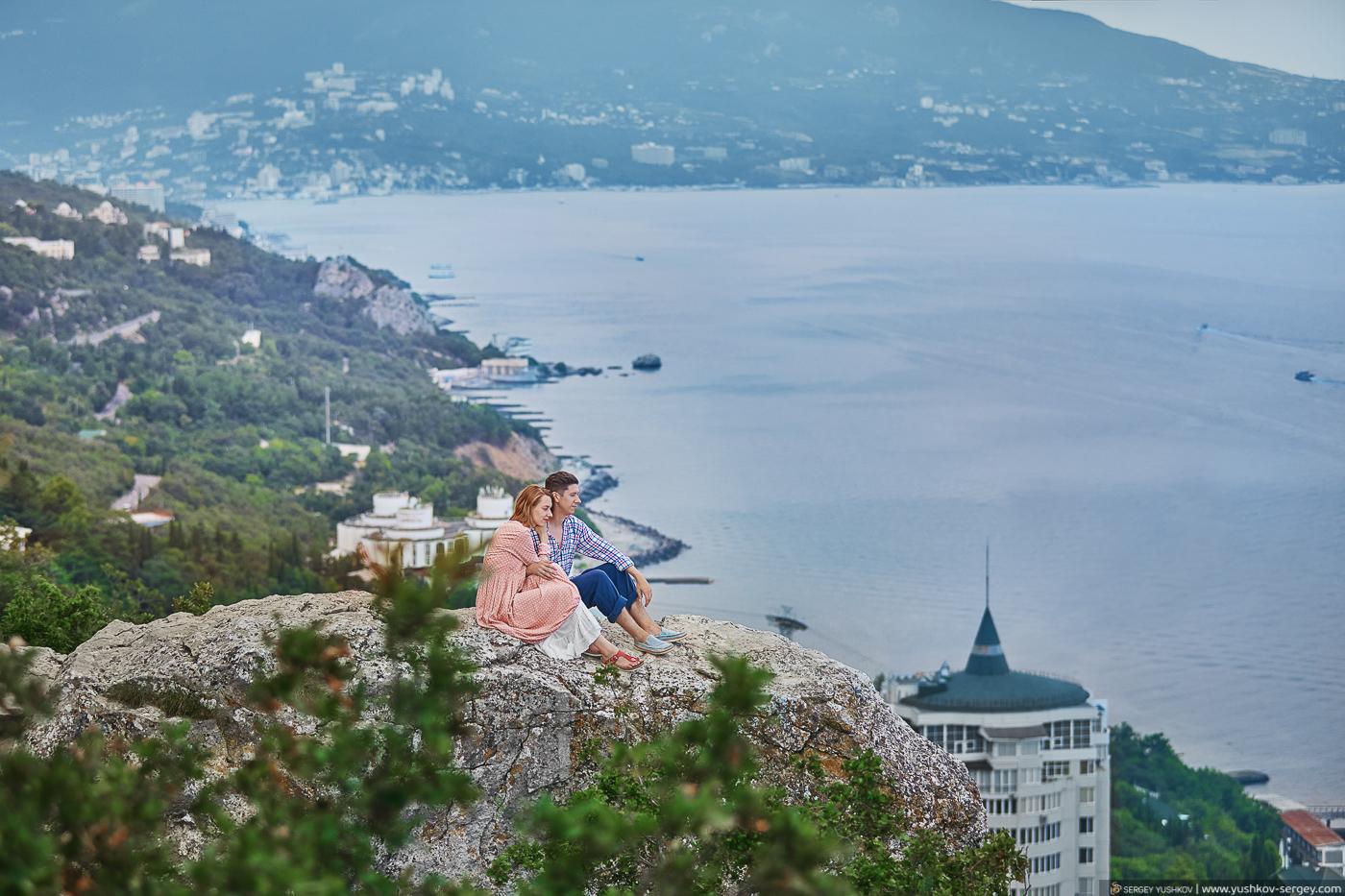 Свадьба для двоих в Крыму. Фотограф - Сергей Юшков.