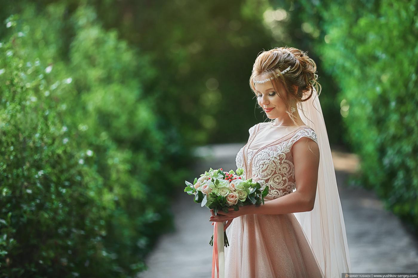 Свадьба для двоих в Крыму. Воронцовский дворец и парк. Фотограф - Сергей Юшков.