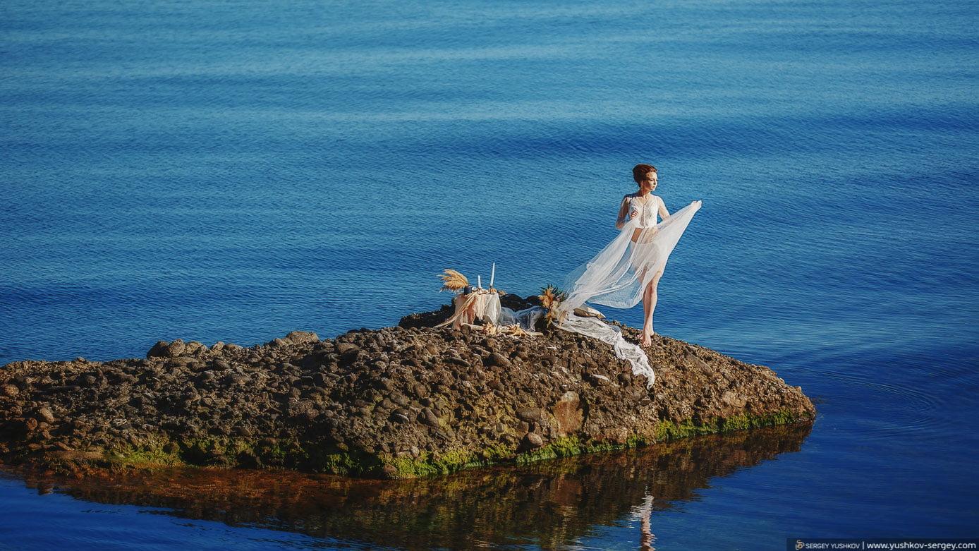 Wedding in Crimea for two. Professional photographer Yushkov Sergey