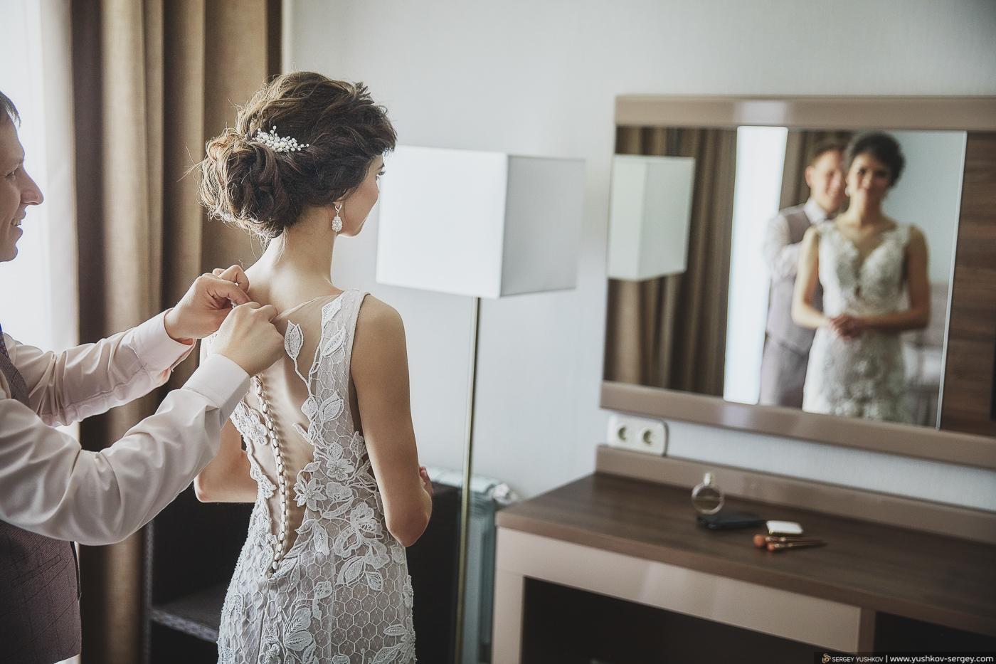 Утро невесты в отеле у моря. Севастополь. Фотограф - Сергей Юшков.