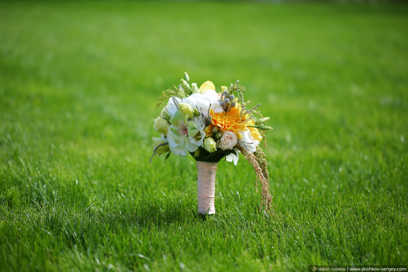 Букеты наших невест