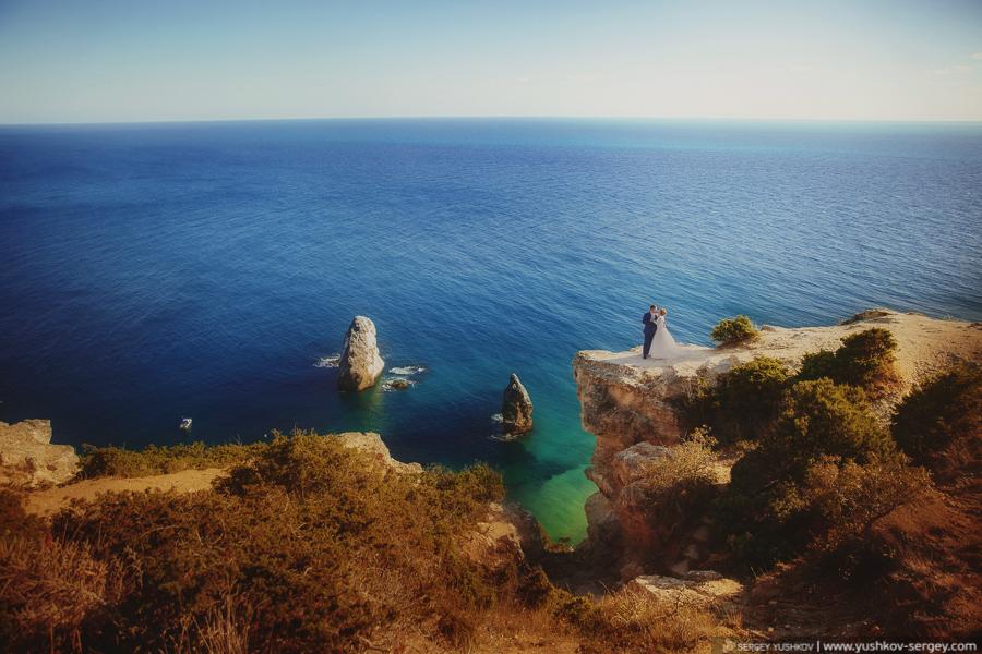 Наташа и Михаил. Свадебная фотосессия «для двоих». Крым.