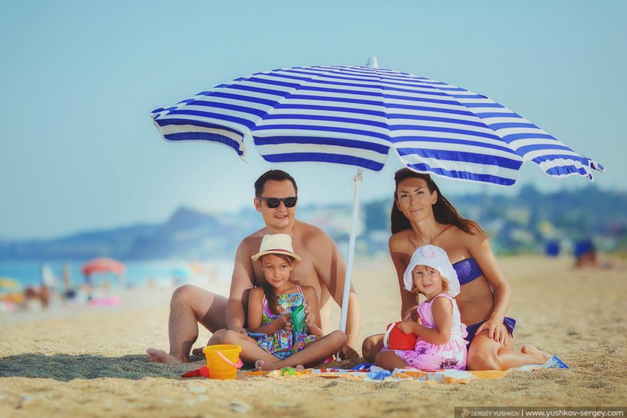 Семейная фотосъемка в Крыму