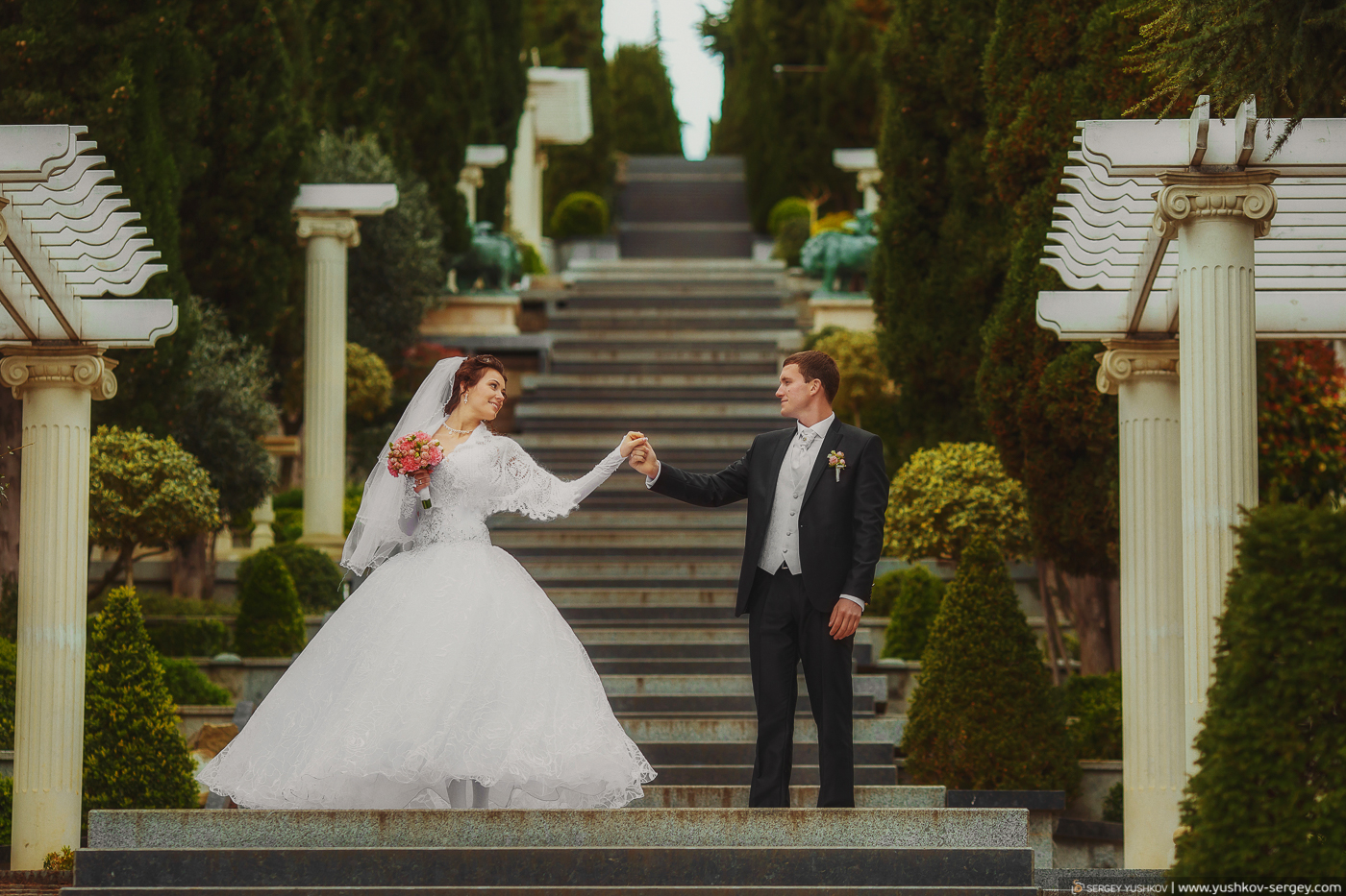 Wedding photo for two in Crimea. Natasha and Eugene