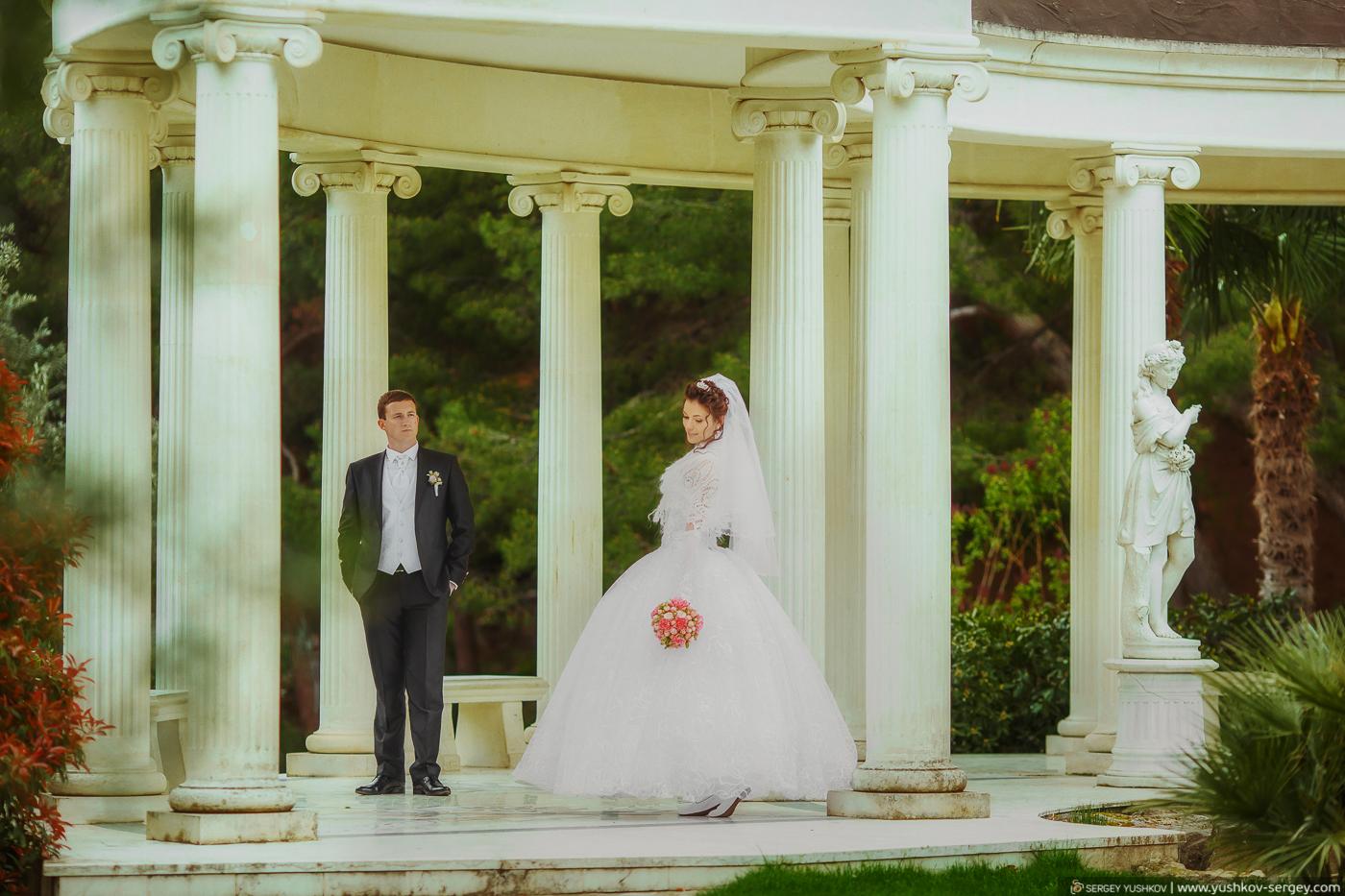 Wedding photo for two in Crimea. Natasha and Eugene
