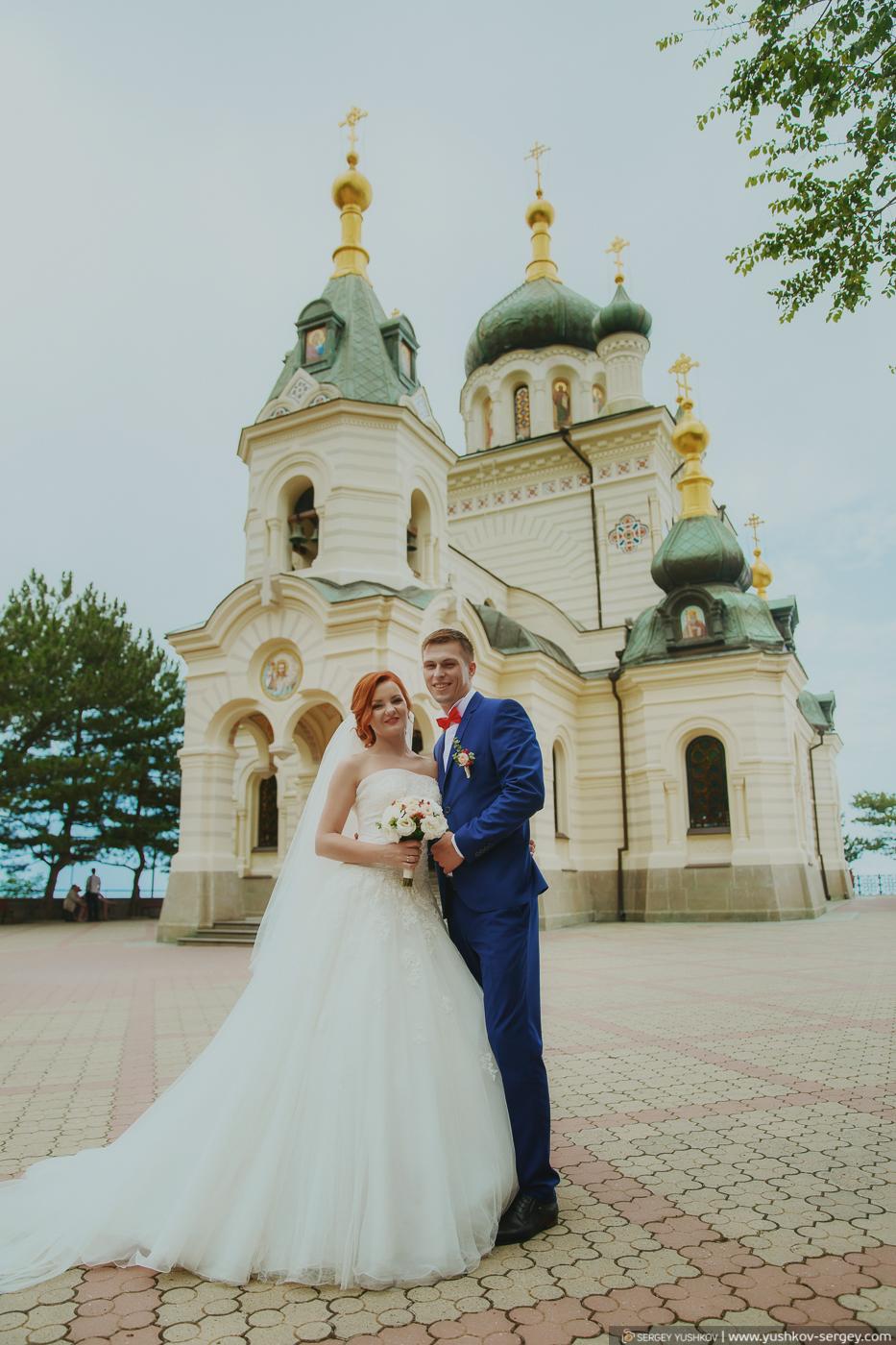 Свадебная фотосессия «Для двоих» в Крыму. Юлия и Юлиан.
