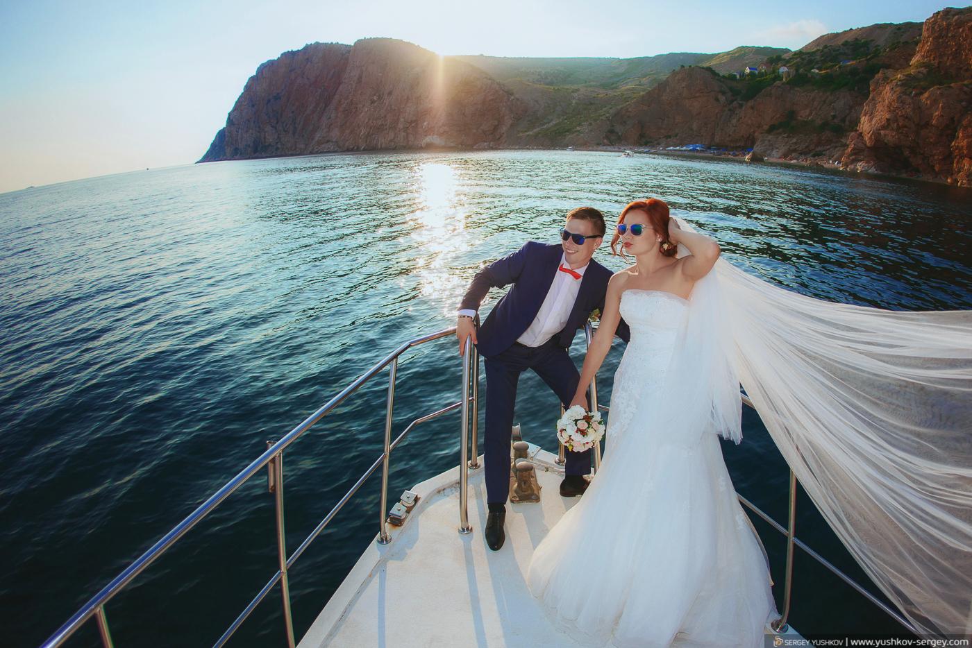 Свадьба «Для двоих» в Крыму. Юлия и Юлиан