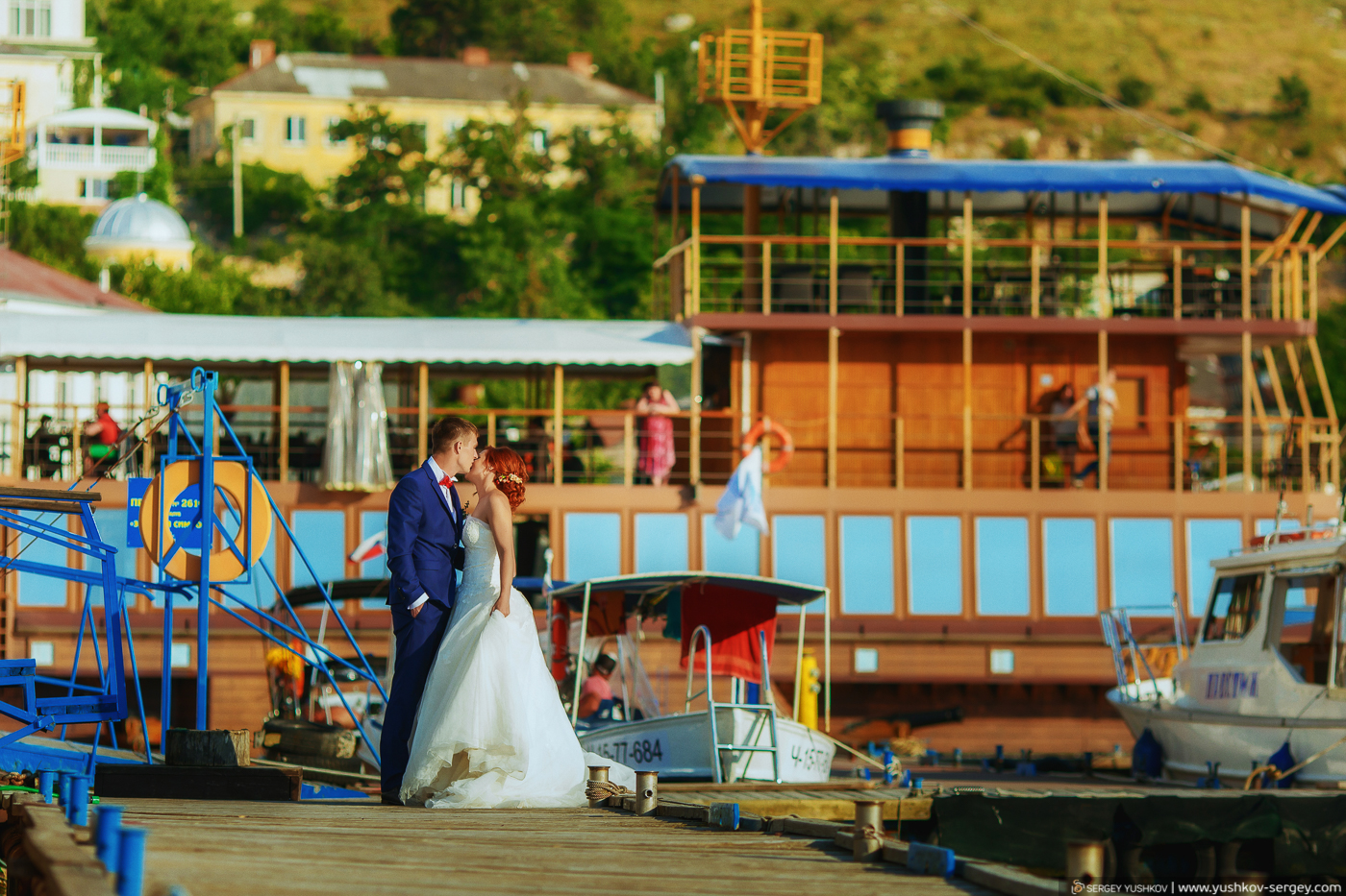 """Wedding photosession """"For two"""" in Crimea. Yulia and Yulian."""
