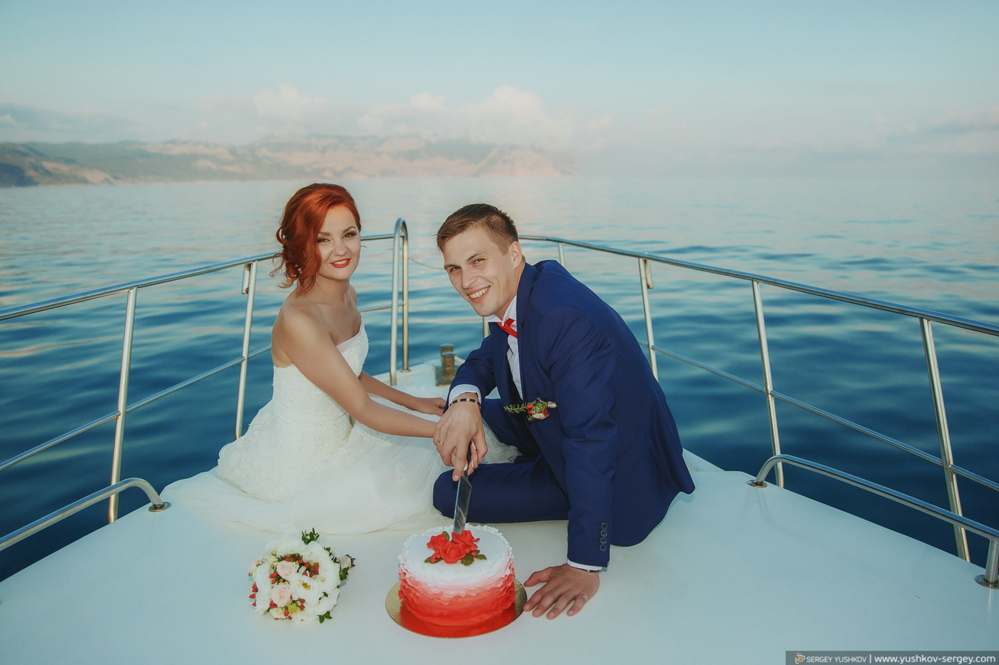 "Wedding photosession ""For two"" in Crimea. Yulia and Yulian."