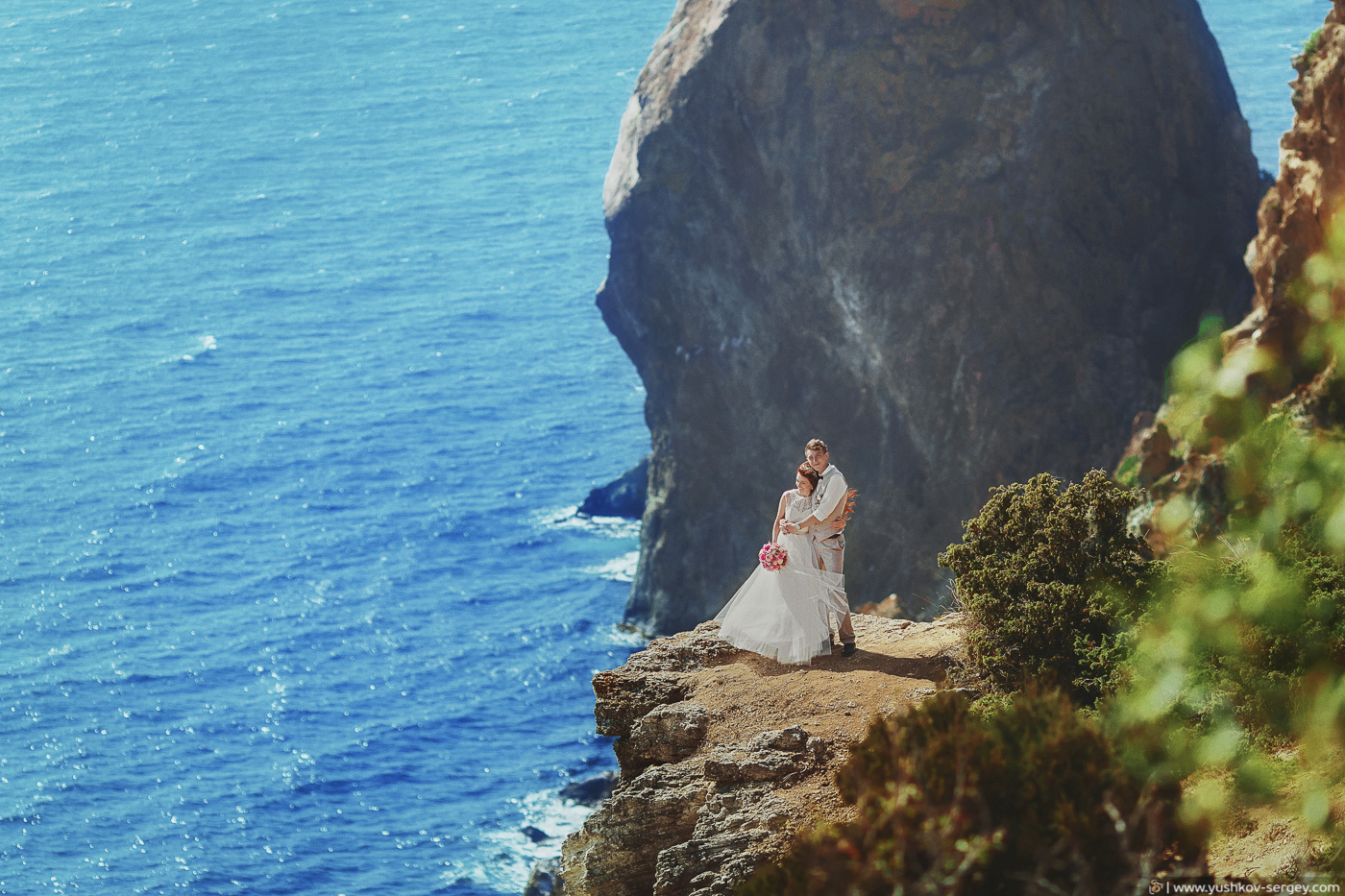 Anna and Sergey. Wedding photosession for two. Crimea