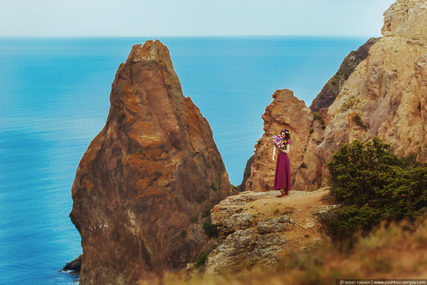 Romantic photo for two. Crimea. Andrey and Taya.