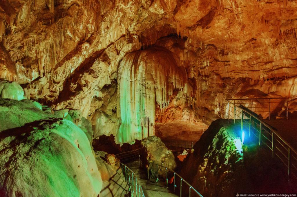 Пещера в Новом Афоне. Абхазия