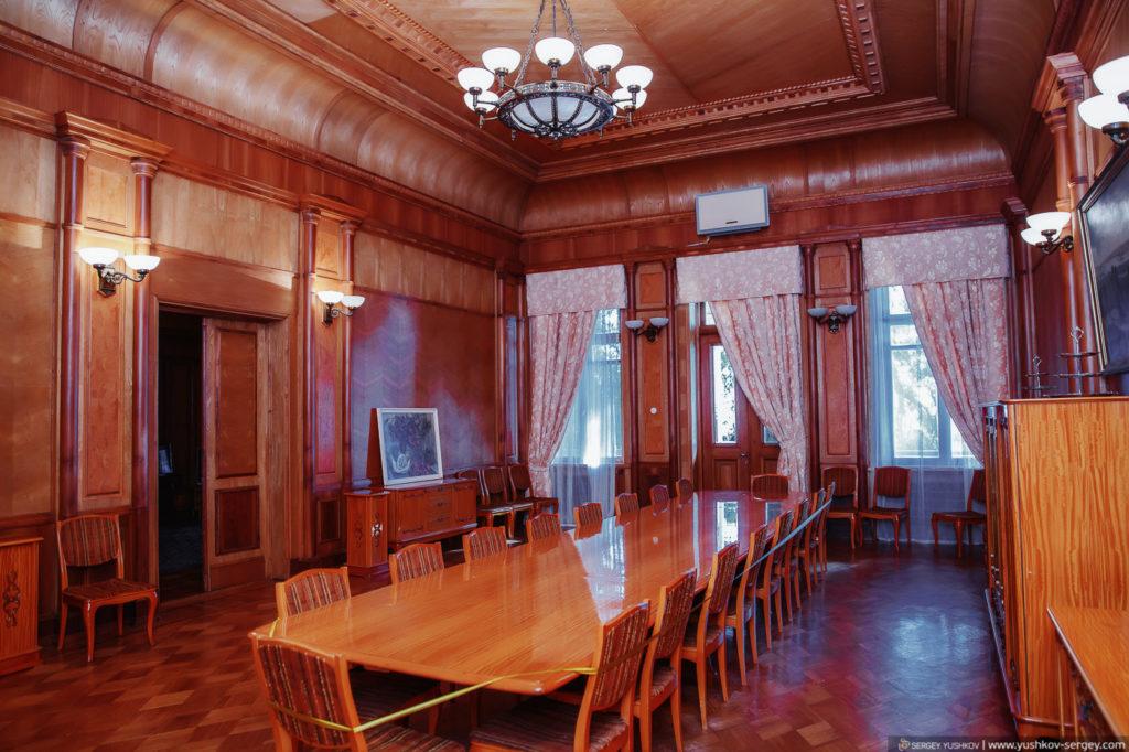 Интерьеры. Дача Сталина в Новом Афоне. Абхазия