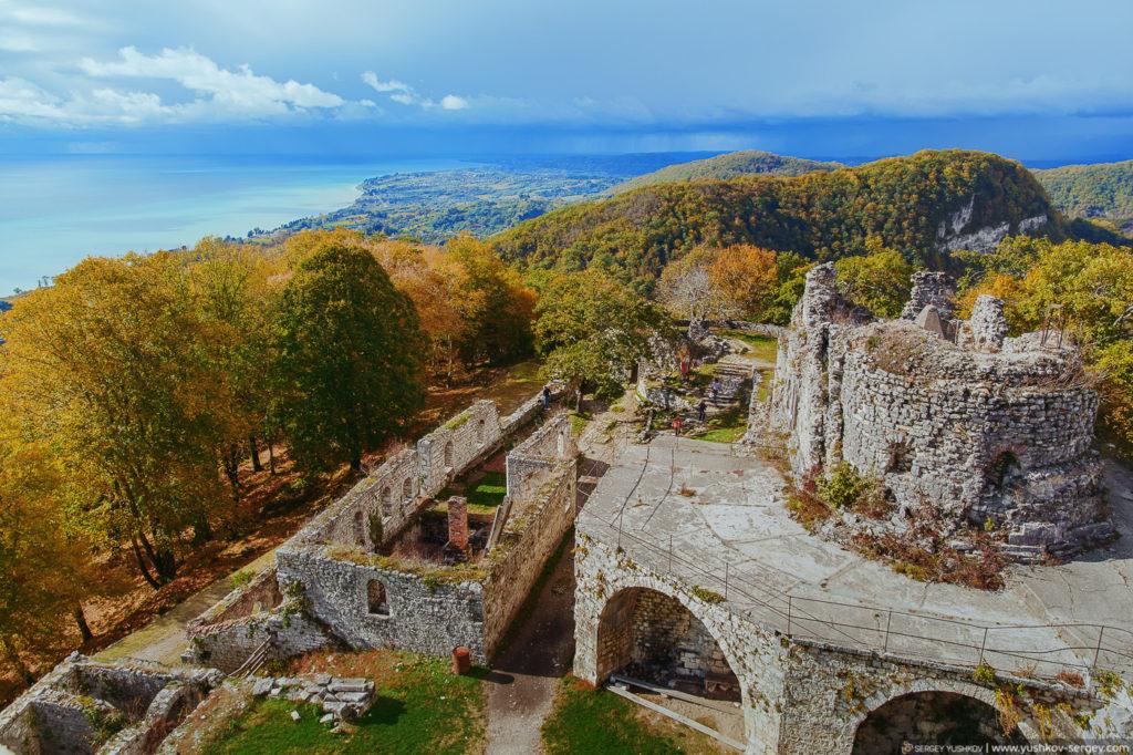 Анакопийская крепость. Новый Афон. Абхазия