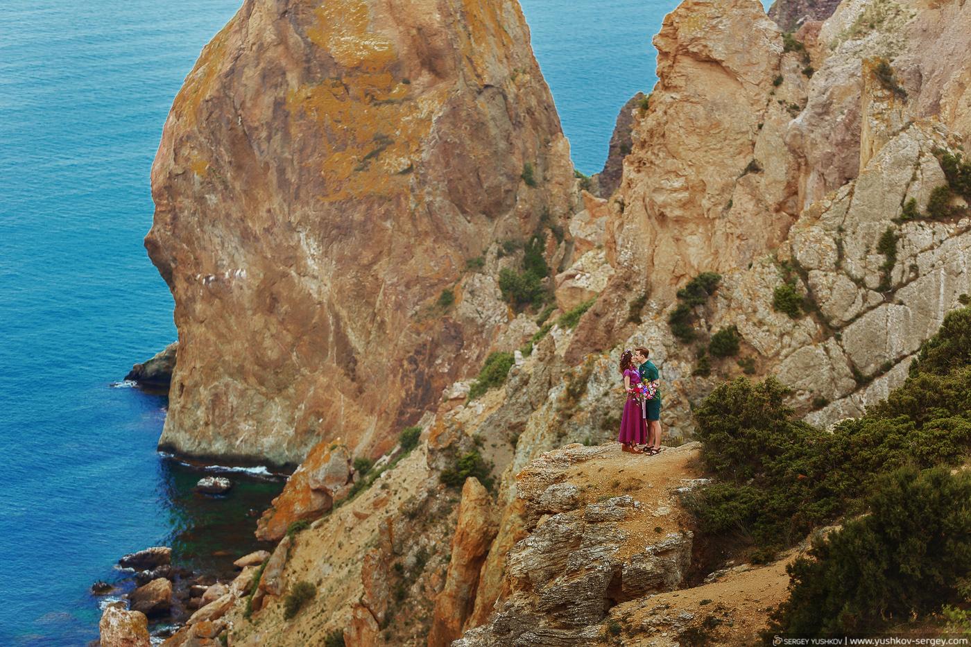 Романтическая фотосессия у моря Для двоих в Крыму. Фотограф - Сергей Юшков