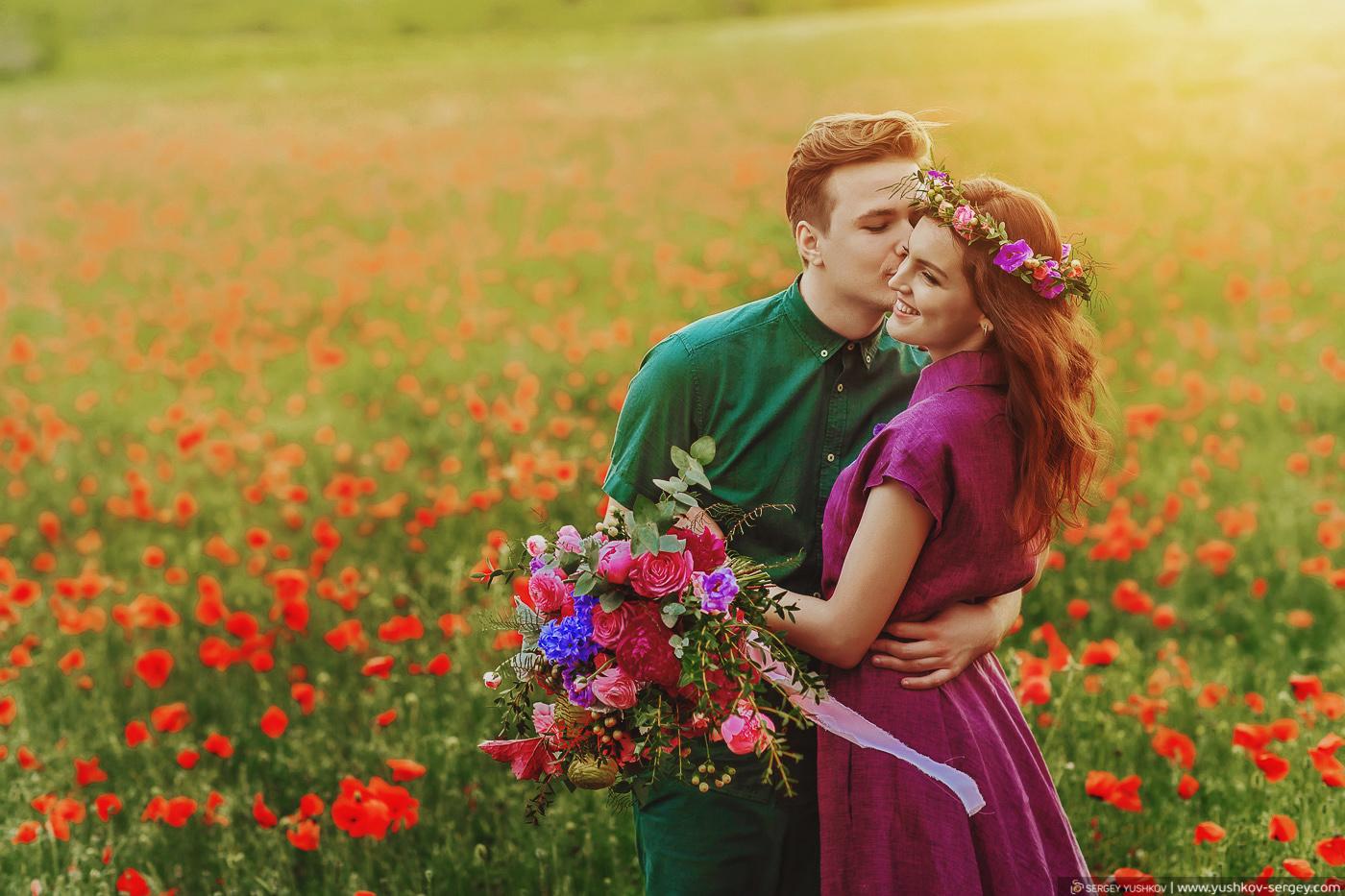 Романтическая фотосессия Для двоих в Крыму. Андрей и Тая.