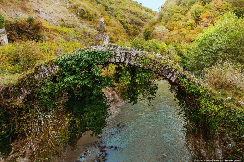 Беслетский мост, Абхазия