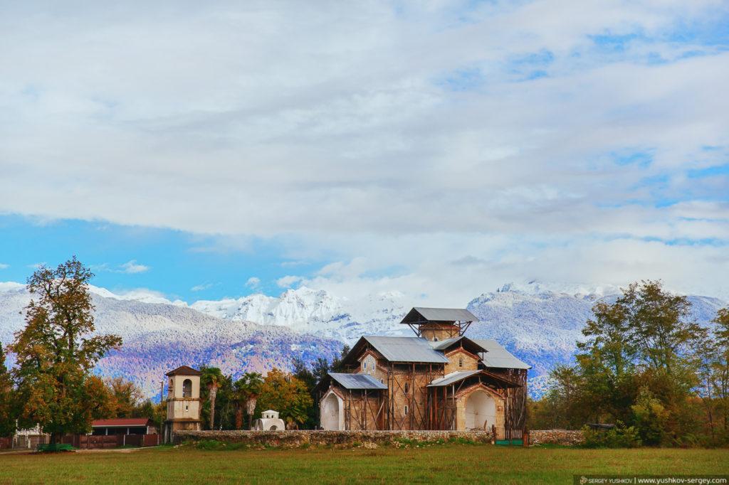 село Лыхны. Абхазия
