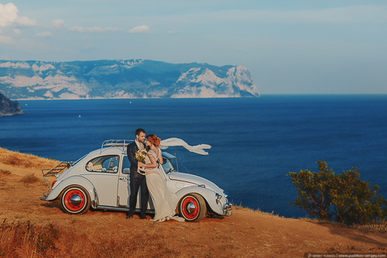 Irina and Ivan. Wedding photo for two in Crimea