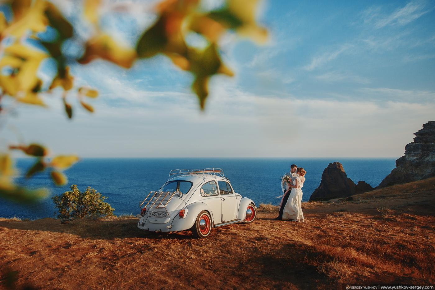 Свадьба для двоих в Крыму. Иван и Ирина.