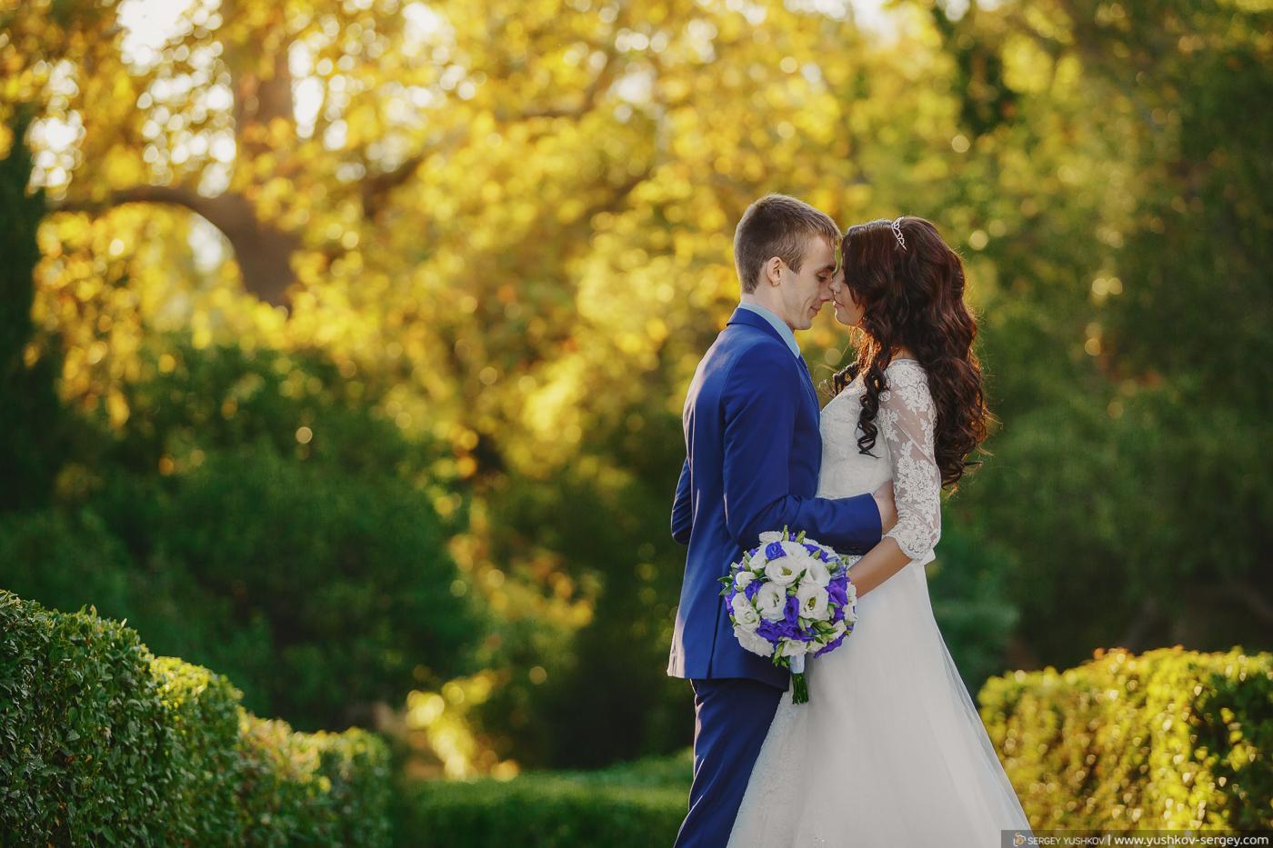 Yulya and Ivan. Wedding for two. Crimea