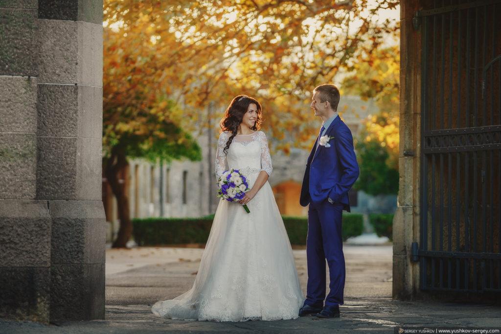 Свадьба в Крыму. Фотосессия для двоих. Воронцовский дворец, Алупка.