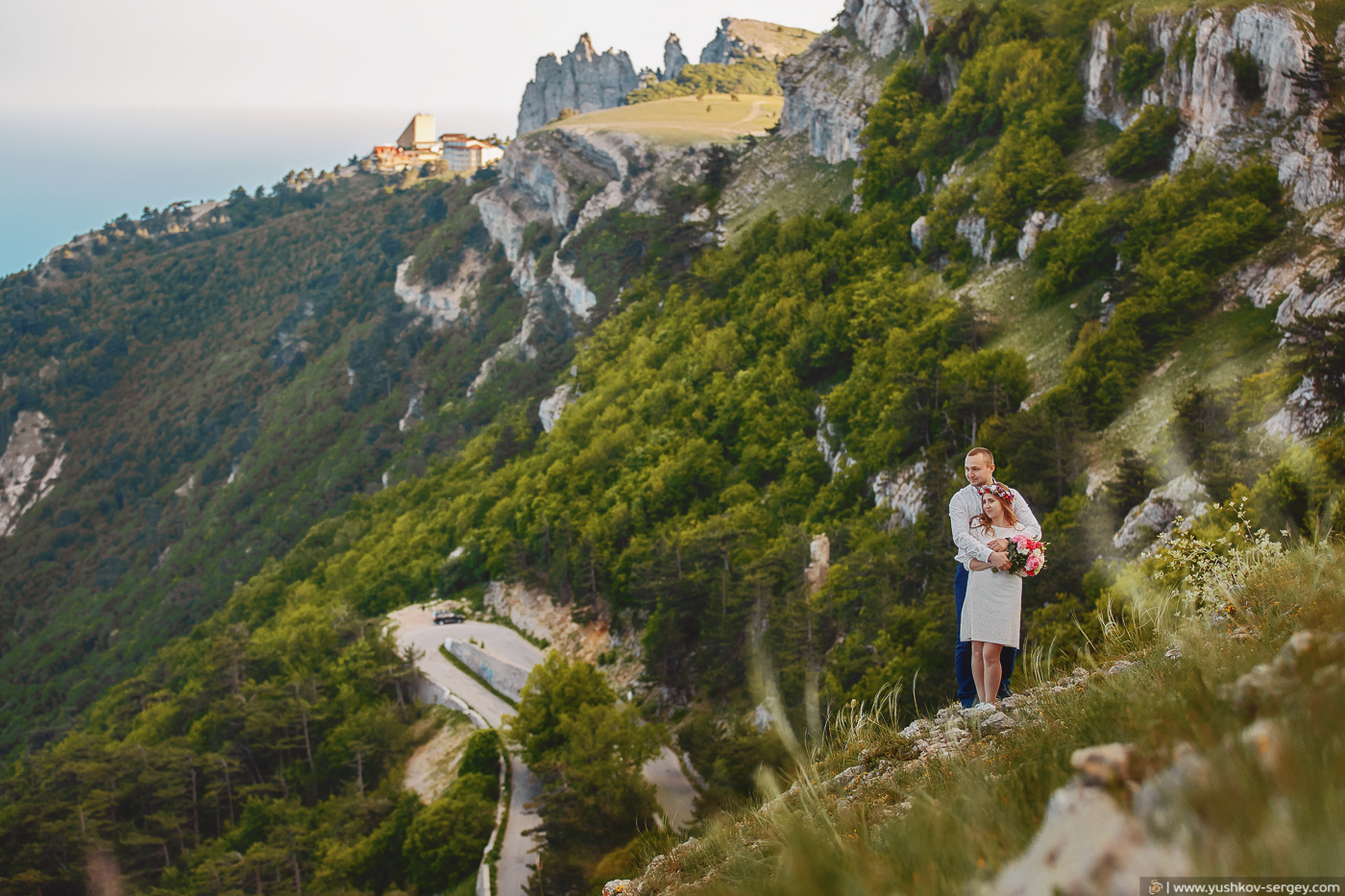 Свадебная фотосессия на Ай-Петри