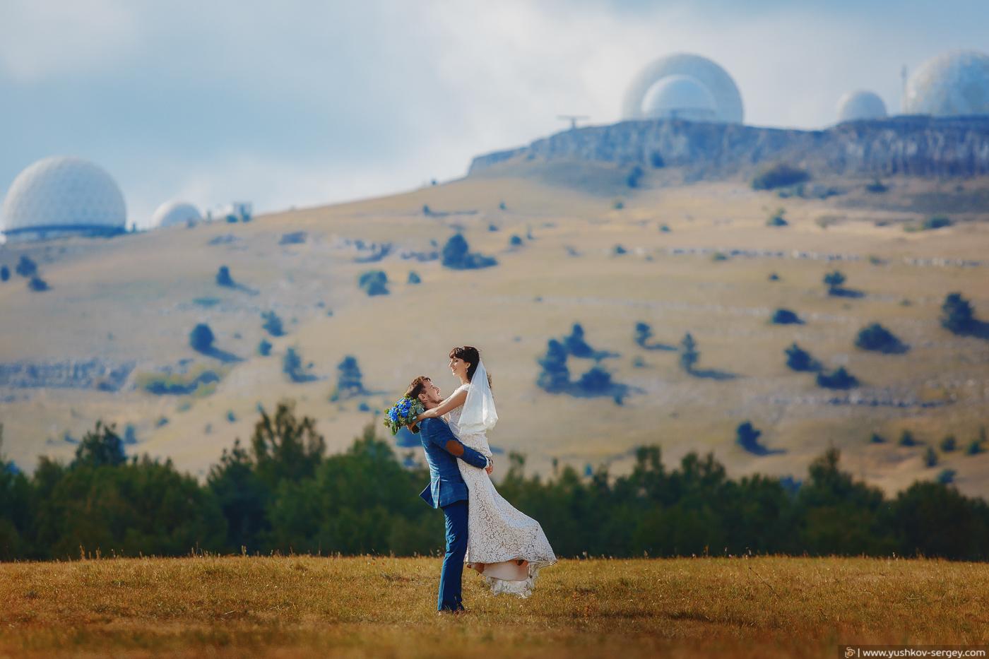 Wedding in Crimea – Ai-Petri and Massandra palace