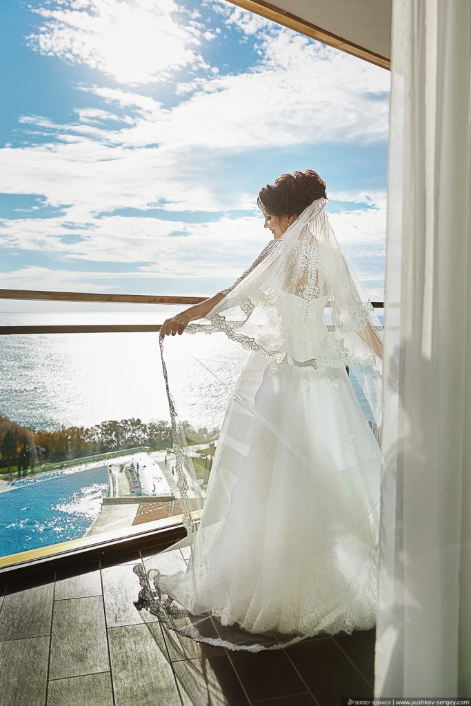 Свадьба в отеле Мрия. Крым. Фотограф Сергей Юшков