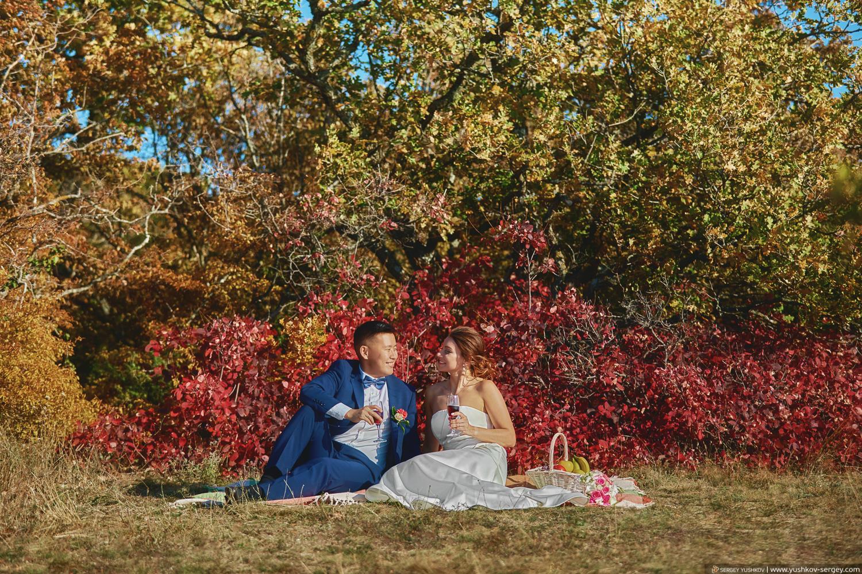Свадебная фотосессия / лавстори на горе. Качи - Кальон, Крым. Фотограф в Крыму - Сергей Юшков