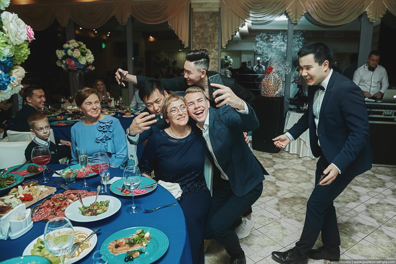 Свадебный банкет в Крыму. Фотограф - Сергей Юшков
